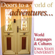 Doors to a world of adventures... show