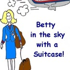 Betty in the Sky with a Suitcase! show
