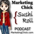 Marketing Chick Sushi-Roll show
