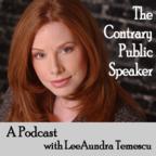 Contrary Public Speaker show