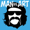 Man vs. Art show