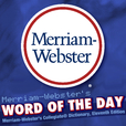 Merriam-Webster's Word of the Day show