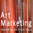 Art Marketing Action Podcasts from Alyson B. Stanfield and ArtBizCoach.com  show