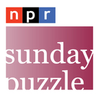 NPR Series: Sunday Puzzle Podcast show