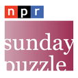 NPR Series: Sunday Puzzle Podcast show