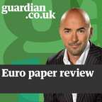 James Richardson's European football papers review show