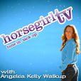 Untacked Equestrian Lifestyle of Horse Girl Angelea Kelly show