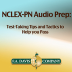 F.A. Davis's NCLEX-PN Audio Prep: Test-Taking Tips and Tactics to Help You Pass show