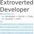 Extroverted Developer show