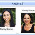 Algebra2 show
