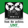 UNT Music Library - From the Archives show
