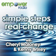 Simple Steps Real Change on Empower Radio show