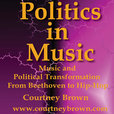 Politics in Music, Courtney Brown, Emory University show