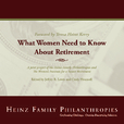 What Women Need to Know About Retirement show