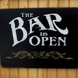 The Bar Is Open show