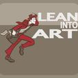 Lean Into Art show