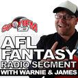 Warnie on Sport FM show