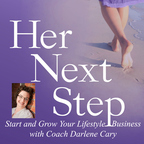 Her Next Step with Business Coach Darlene Cary show