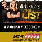 Autoblog's The List show
