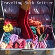 Traveling Sock Knitter show