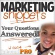 Marketing Snippets | Online Business | Blogging | Marketing show