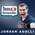 Teenage Entrepreneur with Jordan Agolli show