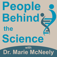 People Behind the Science Podcast - Stories from Scientists about Science, Life, Research, and Science Careers show