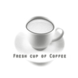 Fresh cup of Coffee show