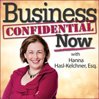Business Confidential Now with Hanna Hasl-Kelchner show