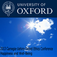 2013 Carnegie-Uehiro-Oxford Ethics Conference:  Happiness and Well-Being show