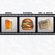 Beers, Burgers, & a Movie show