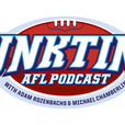 JunkTime AFL podcast with Adam Rozenbachs and Michael Chamberlin show