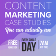 Detailed Content Marketing show