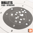 Bullets with AWR Hawkins show