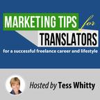 Marketing tips for translators - podcast show