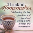 Thankful Homemaker: A Christian Homemaking Podcast show