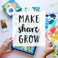 Make Share Grow: Art, Craft and the Creative Process show
