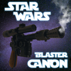 Star Wars Blaster Canon show