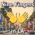 Nine Fingers in LA show