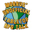 Morrus' Unofficial Tabletop RPG Talk show