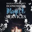 Kalila Stormfire's Economical Magick Services show