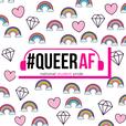 #QueerAF   queer inspiring LGBT + stories show