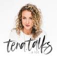 tena talks a lot. show