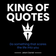 King of Quotes show