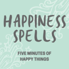 Happiness Spells: 5 Minute Lists of Happy Things for Increasing Gratitude, Reducing Stress, Sleep, Meditation, Anti-Anxiety show