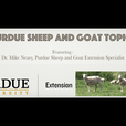 Purdue Sheep and Goat Topics show