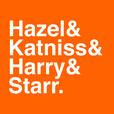 Hazel & Katniss & Harry & Starr show
