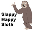 Slappy Happy Sloth show