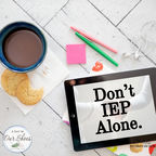 Don't IEP Alone. show