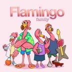 Flamingo Family show